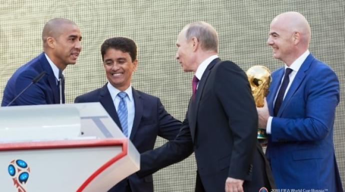 FIFA World Cup™ Trophy Tour by Coca-Cola begins in Moscow